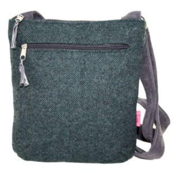 Messenger cross body zipped bag