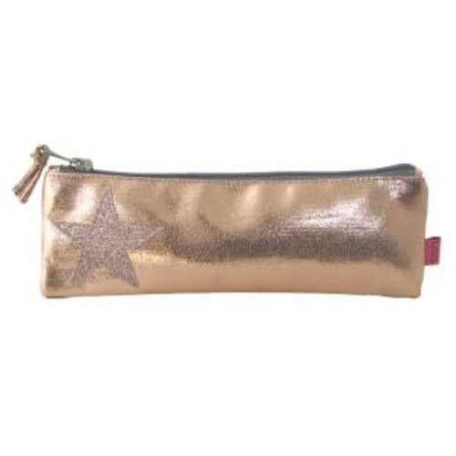 LUA Metalic Star Pen Purse