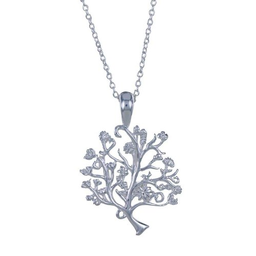 Reeves and Reeves Tree of Life silver  necklace