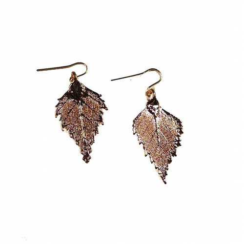 Roxburgh Rose Gold Birch Earring