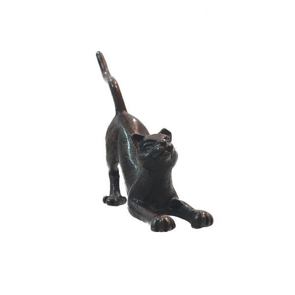 Hockende Katze