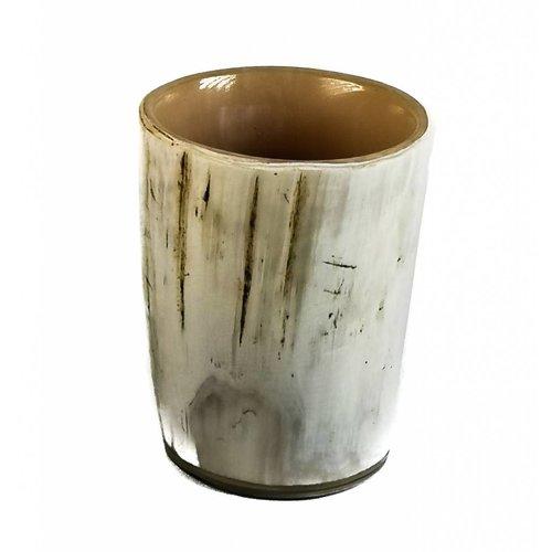 Abbey Horn Tot oder Vasen oxhorn Gefäß Medium 2