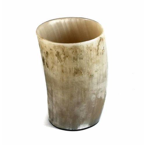 Abbey Horn Pen Cup Ochsenhorn Gefäß Medium 1