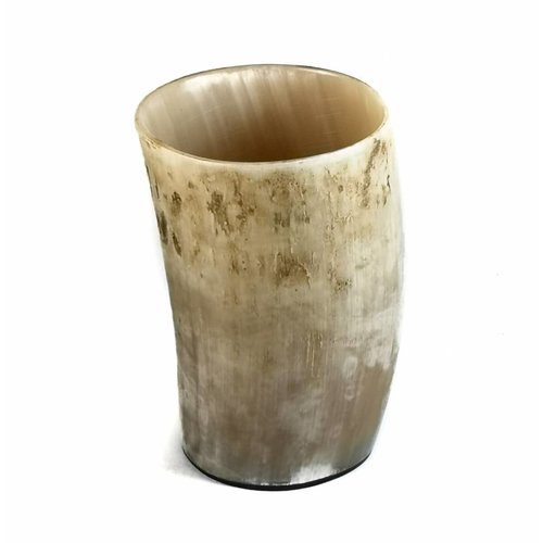 Abbey Horn Pen cup  oxhorn vessel medium 1