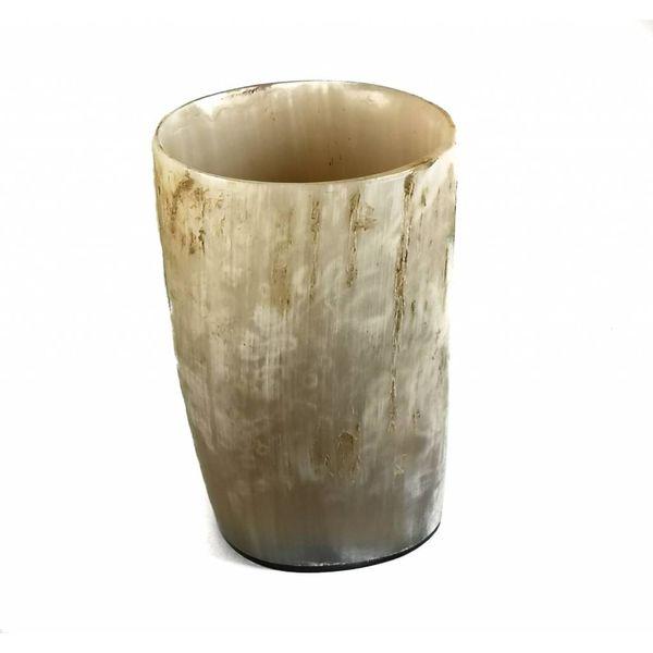 Pen Cup Ochsenhorn Gefäß Medium 1