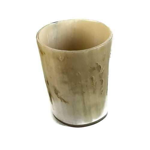 Abbey Horn Tot or vase oxhorn vessel medium 1