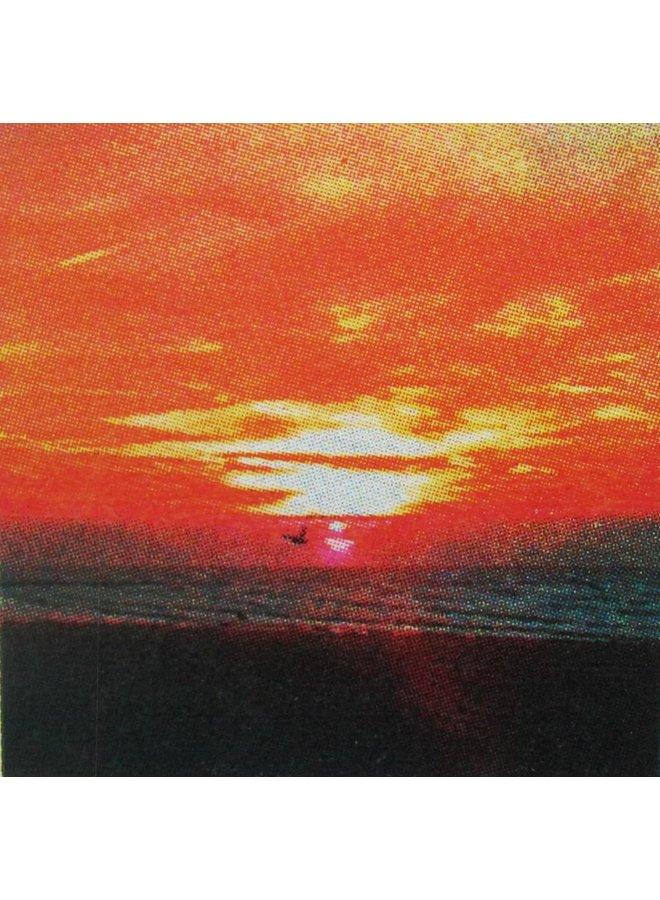 Sonnenuntergangsflug