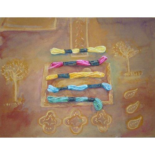 Christine Clarke Coloured Threads