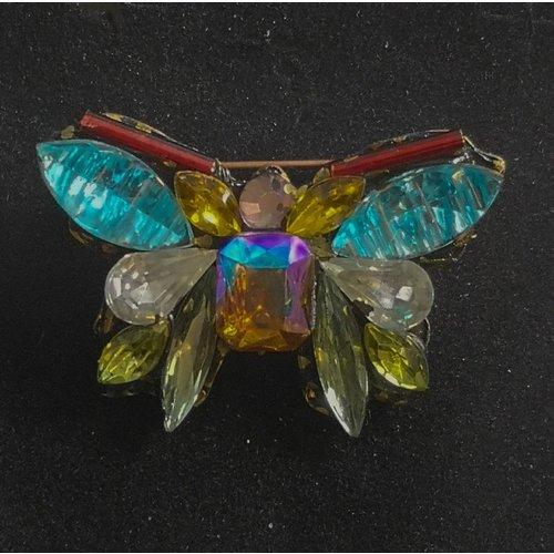 Annie Sherburne Vintage Schmetterling Brosche 100