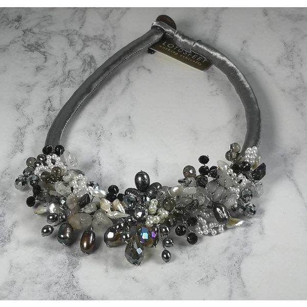 Collar plata satinado 029