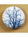 Hand Made Porcelain smooth  touchstone 001