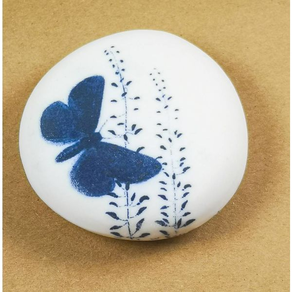 Hand Made Porcelain Smooth touchstone 004