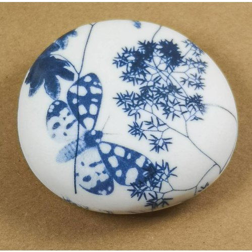 Clare Mahoney Hand Made Porcelain Smooth touchstone 007