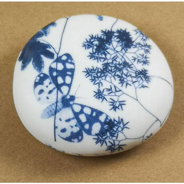 Hand Made Porcelain Smooth touchstone 007
