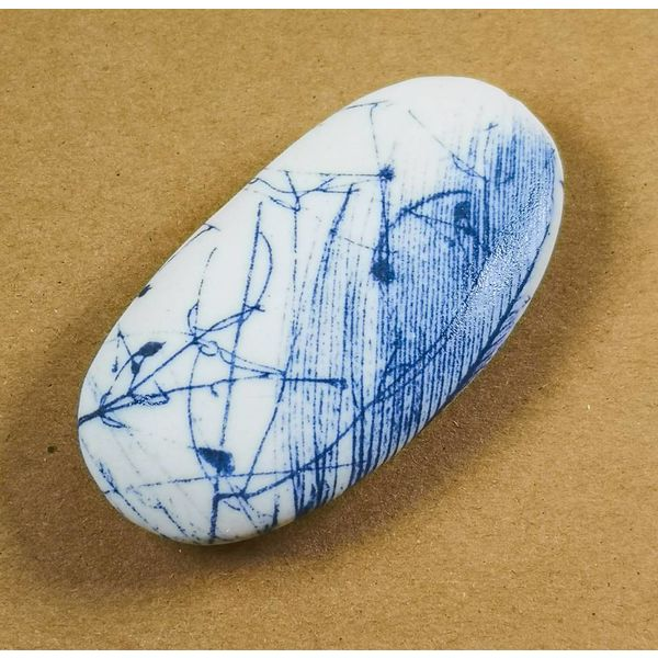 Hand Made Porcelain Smooth touchstone 010