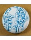 Hand Made Porcelain textured  touchstone 013