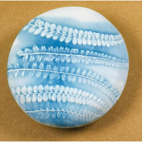 Clare Mahoney Hand Made Porcelain textured  touchstone 017