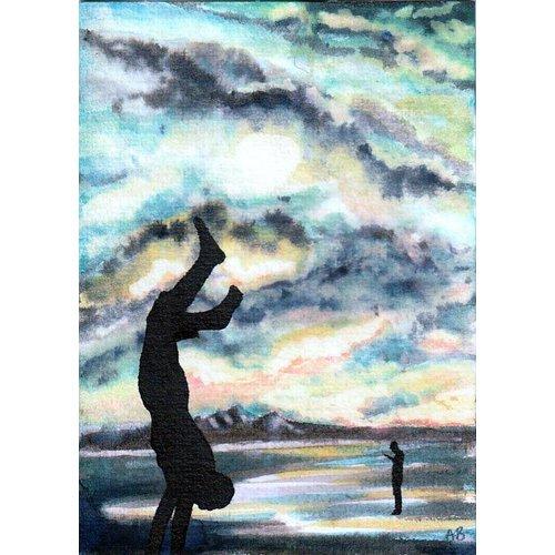 Alyson Barnard Akrobatik-Ufer
