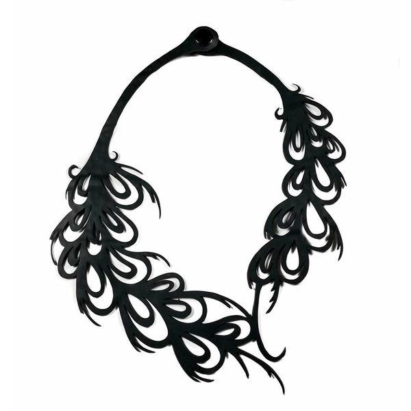 Phoenix inner tube  necklace