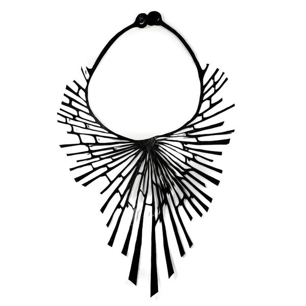 Nova rubber necklace