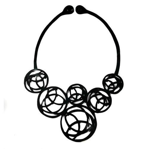 Paguro Neptune inner tube  rubber necklace 32