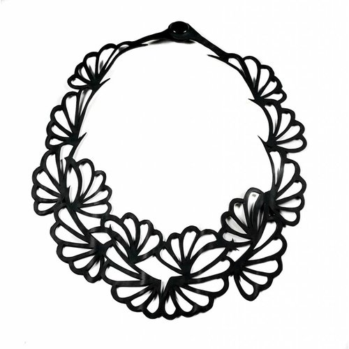 Paguro Violets inner tube  necklace
