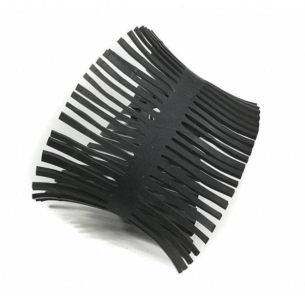 Pulsera de espina de pescado tubo medio mediano 15