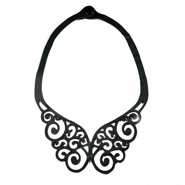 Wings inner tube  necklace