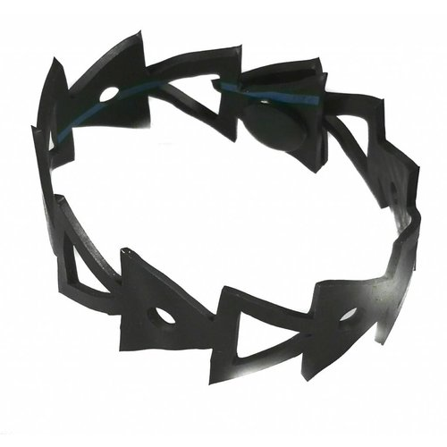 Paguro Arrow rubber bracelet medium