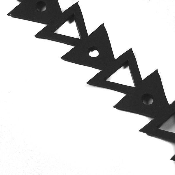 Arrow rubber bracelet medium