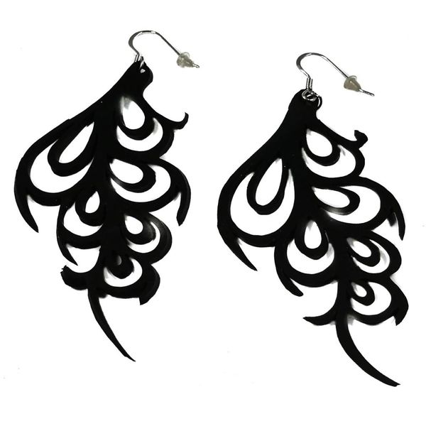 Bella Rubber  earrings