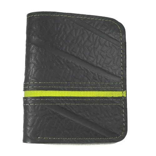 Paguro Wallets Wallet inner tube Black green Dody slim  style