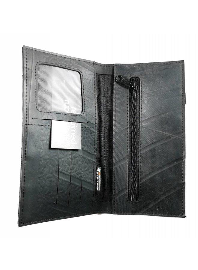 Brieftasche Innenrohr Schwarzer schlanker Verschlussstil