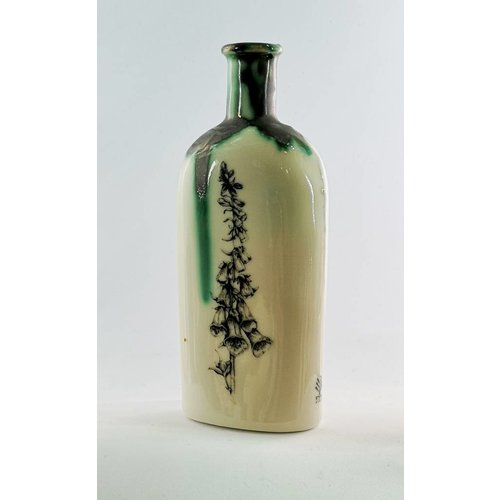 Jillian Riley Designs Apothecary bottle Foxglove ceramic
