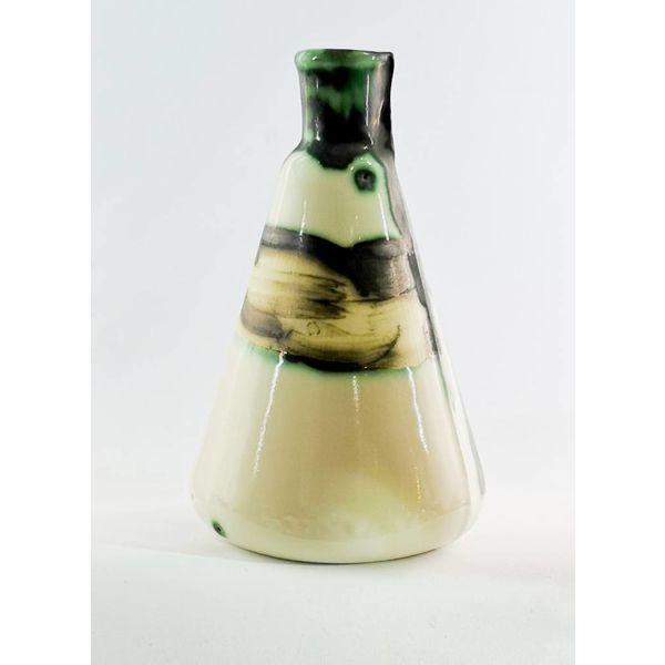 Laboratory bottle Art Nouveau Bug ceramic