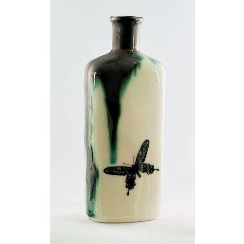 Jillian Riley Designs Schmetterlingsstiefel apocethary Flasche