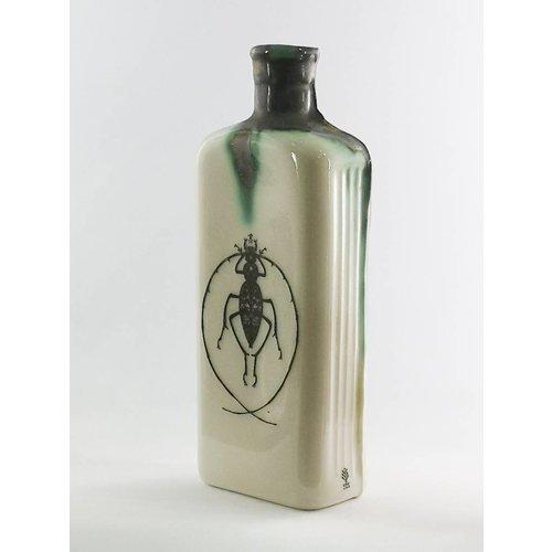 Jillian Riley Designs Botella de veneno de insecto de antena cruzada