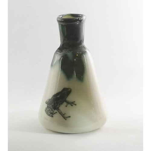 Jillian Riley Designs Sitting Toad conical flask ceramic