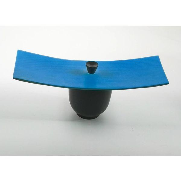 Ash oblong blue and black box
