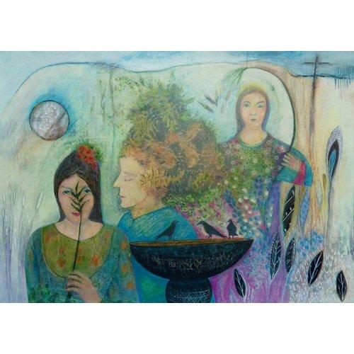 Louise Oliver In Blätter geschrieben