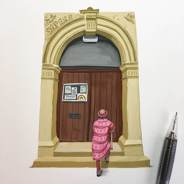 Exquisites Portal Nr. 1