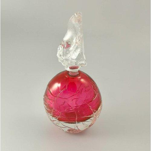 Bob Crooks Runde Gletscherduftflasche pink