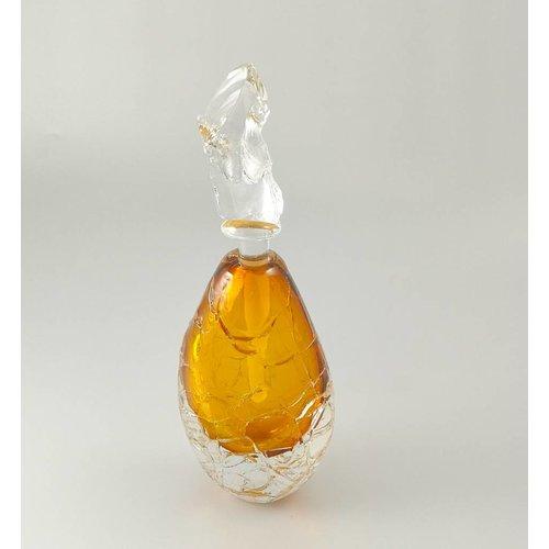 Bob Crooks Copy of Tall Glacier Scent bottle purple