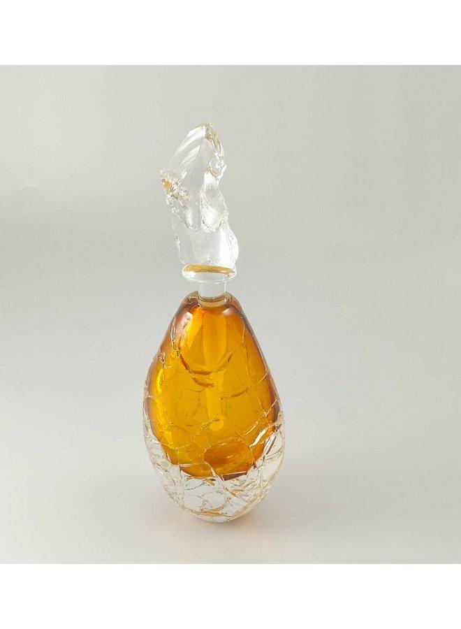 Hohe Gletscherduftflasche Gold