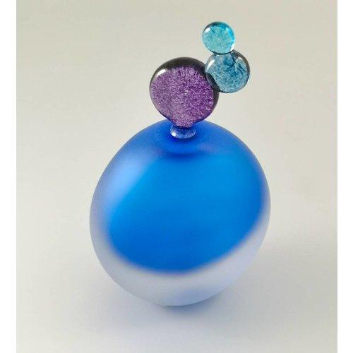 Bob Crooks Fun ovale Duftflasche blau