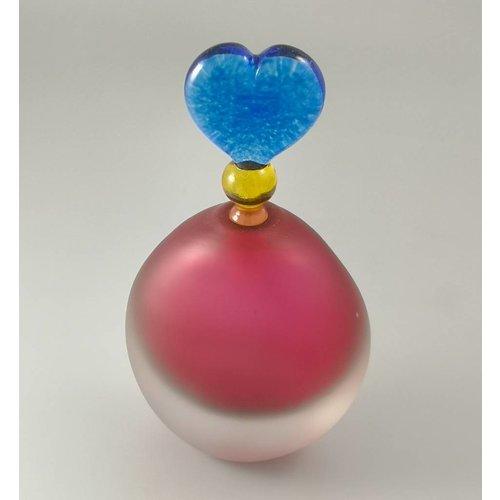 Bob Crooks Divertido aroma botella oval rosa