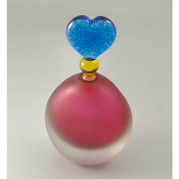 Divertido aroma botella oval rosa