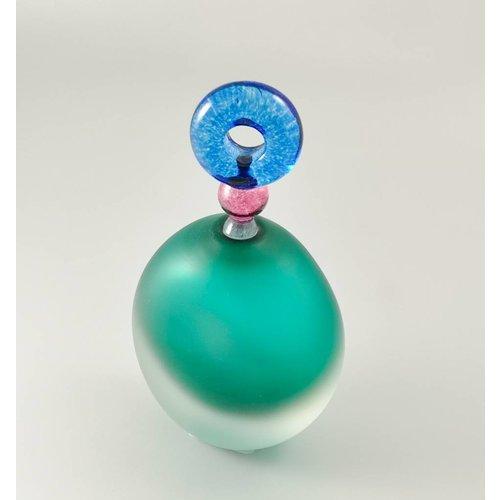 Bob Crooks Divertido aroma botella oval verde