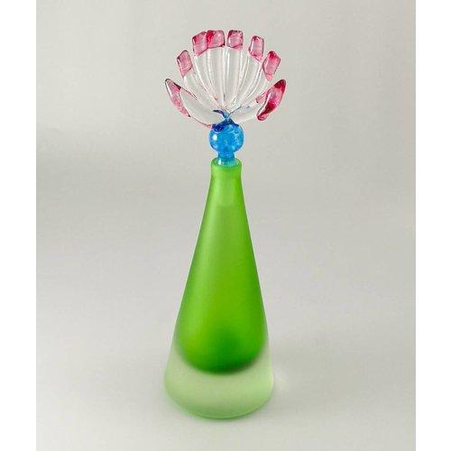Bob Crooks Copy of Tall Glacier Scent bottle green