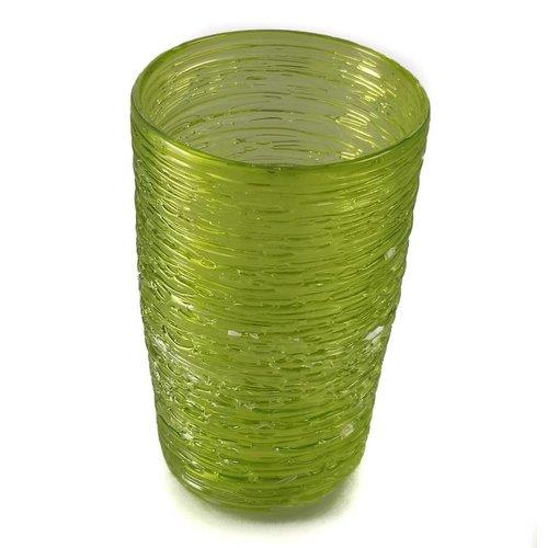 Bob Crooks Tornado Tumbler lime green